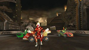 скриншот Ben 10: Galactic Racing PS Vita #4