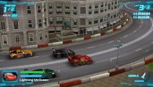 скриншот Cars 2 PSP (русская версия) #4