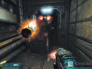 скриншот DOOM 3 XBOX 360 #4
