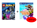 игра LEGO BATMAN 3: Покидая Готэм PS4 + Little Big Planet 3 PS4