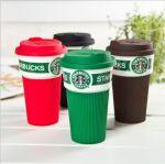 фото Чашка Starbucks Еco Life (зеленая) #4