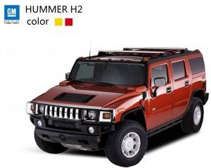 Машинка Meizhi лиценз. Hummer H2 (красный)