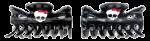 Заколки крабики Мonster Нigh 2 шт