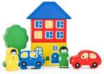 фото Игровой набор 'Цветной городок' голубой #2