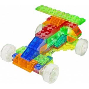 фото Конструктор Laser Pegs Набор 4 в 1. Гоночный автомобиль (Серия MPS) #3