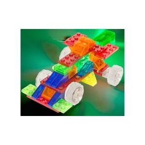 фото Конструктор Laser Pegs Набор 4 в 1. Гоночный автомобиль (Серия MPS) #4