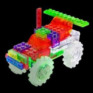 фото Конструктор Laser Pegs 'Вантажівка-монстр 6 в 1' #4