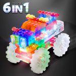 фото Конструктор Laser Pegs 'Вантажівка-монстр 6 в 1' #3