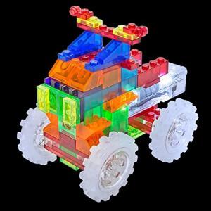 фото Конструктор Laser Pegs 'Вантажівка-монстр 6 в 1' #2