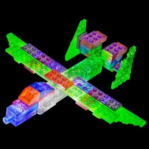 фото Конструктор Laser Pegs 'Літак 6 в 1' #3