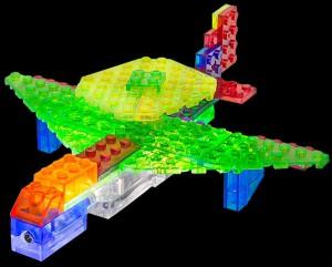 фото Конструктор Laser Pegs 'Літак 6 в 1' #2