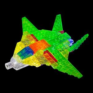 фото Конструктор Laser Pegs 'Літак 6 в 1' #4