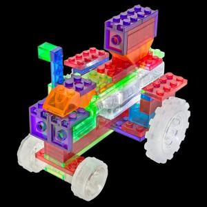 фото Конструктор Laser Pegs 'Трактор 6 в 1' #3