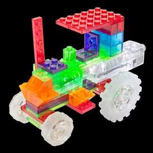фото Конструктор Laser Pegs 'Трактор 6 в 1' #4