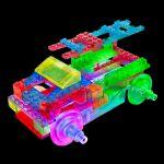 фото Конструктор Laser Pegs 'Вантажівки 8 в 1' #2