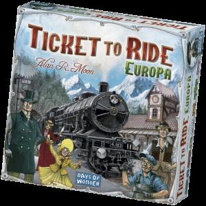 Ticket to Ride Europe-English
