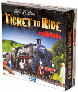 Ticket to Ride Marklin Edition-English (карта Германии)