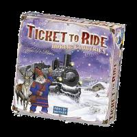 Настольная игра Days of Wonder 'Ticket to Ride Nordic Countries-English' (карта Скандинавии) (7208TTR)