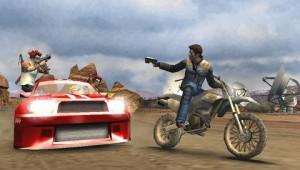 скриншот Pursuit Force Extreme Justice PSP #5