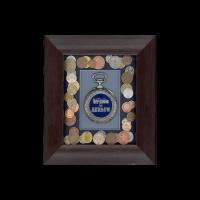 Подарок Коллаж 'Время-деньги'