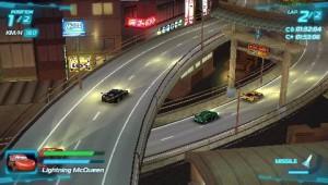 скриншот Cars 2 PSP (русская версия) #5