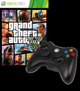 игра GTA 5 XBox 360 + Controller XBox 360