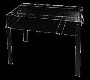 Мангал портативный с решеткой Time Eco, 6 шампуров (4082)