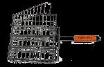 Решетка-гриль с антипригарным покрытием Time Eco 2121  (26 x 31 см)