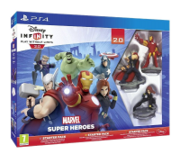 игра Disney Infinity 2.0 Marvel Super Heroes Starter Pack PS4 - Русская версия