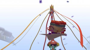 скриншот Tearaway Unfolded PS4 - Сорванец: Развернутая история - Русская версия #2