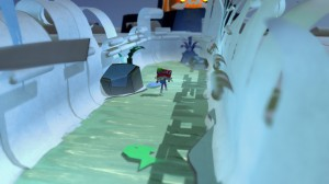 скриншот Tearaway Unfolded PS4 - Сорванец: Развернутая история - Русская версия #4