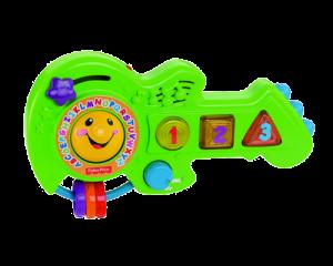 Развивающая игрушка Fisher-Price 'Умная гитара' (рус.)