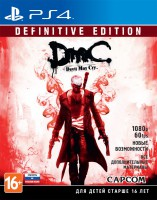 игра DmC Devil May Cry. Definitive Edition PS4 - Русская версия