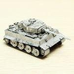 Металлический конструктор 3D Metal Puzzle 'Танк Тигр' (WZ-9837)