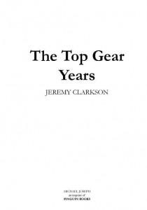 фото страниц Без тормозов: Мои годы в Top Gear #5