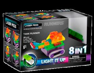 Конструктор Laser Pegs Танк Набор (8 в 1)