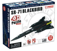 Объемный пазл 'Самолет SR-71'
