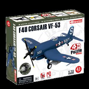 Объемный пазл 'Самолет F4U Corsair VF-53'