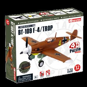 Объемный пазл Самолет BF-109 Messerschmitt F-4/TROP