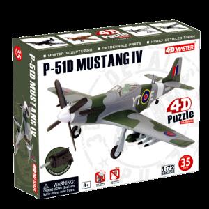 Объемный пазл 'Самолет F-51D Mustang 4'