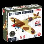 Объемный пазл 'Самолет Spitfire MK.VB Gourbin'