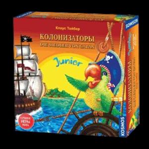 Настольная игра Hobby World 'Колонизаторы Junior' (старая версия) (1270)