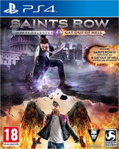 игра Saints Row 4: Re-Elected PS4 - Русская версия