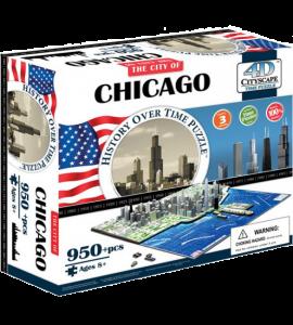 Объемный пазл 'Чикаго, США'
