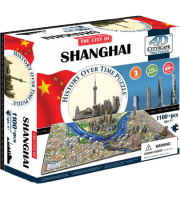 Объемный пазл 'Шанхай, Китай'