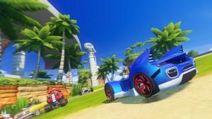 скриншот Sonic & All-Star Racing Transformed #7
