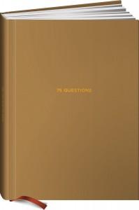 Книга Ежедневник 75 questions. Вопросы для самопознания