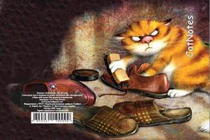 Блокнот Cat Notes 'И на моей улице будет праздник...' А5, 80 с