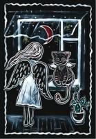 Блокнот-еженедельник 'Аrt weekly planner. Moonlight night' А5, 128 с.