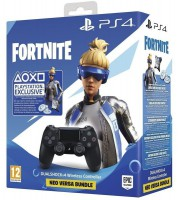 Геймпад беспроводной PlayStation Dualshock v2 Jet Black (Fortnite)